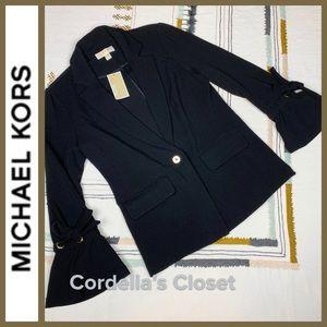 NWT! [ Michael Michael Kors ] Career Black Blazer